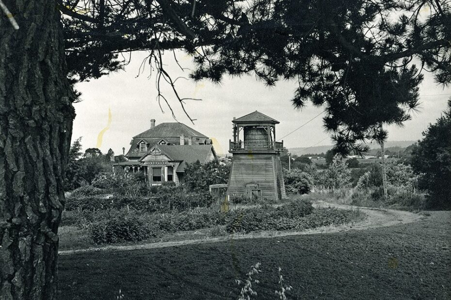 The Lodge house on Rancho Soquel, taken by Tom King.