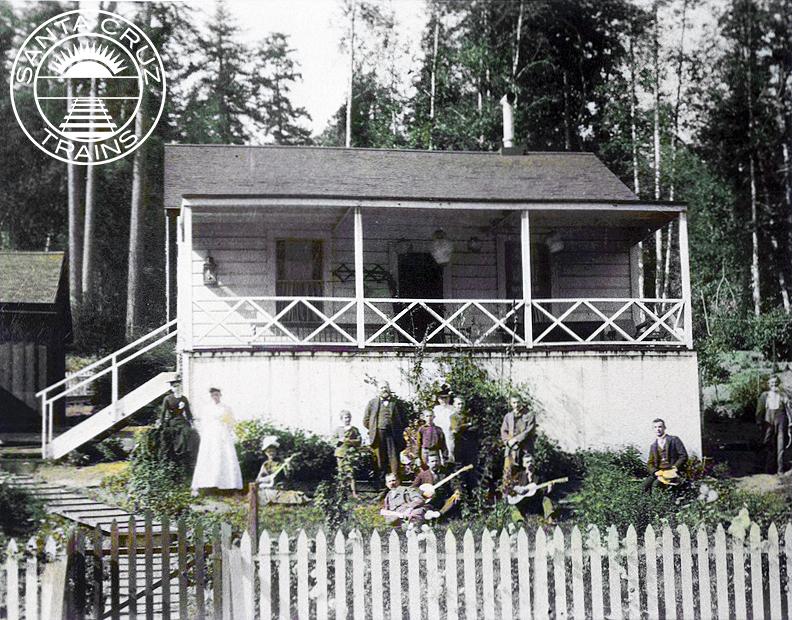John T Porter House, ca 1890